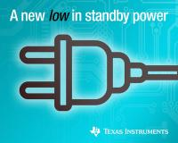 TI enables designers to achieve a new low in standby power