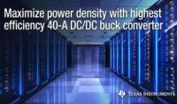Stackable DC/DC buck converter maximizes power density in high-current FPGA and processor power supplies