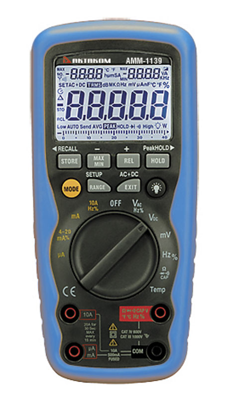 Create Your Own Package - You can choose AMM-1139 Professional Multimeter