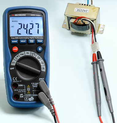 AKTAKOM AMM-1028 Professional Industrial Digital Multimeter - ACV Measurement