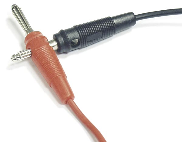 PTL904-3 Test Probe Red Black - tips