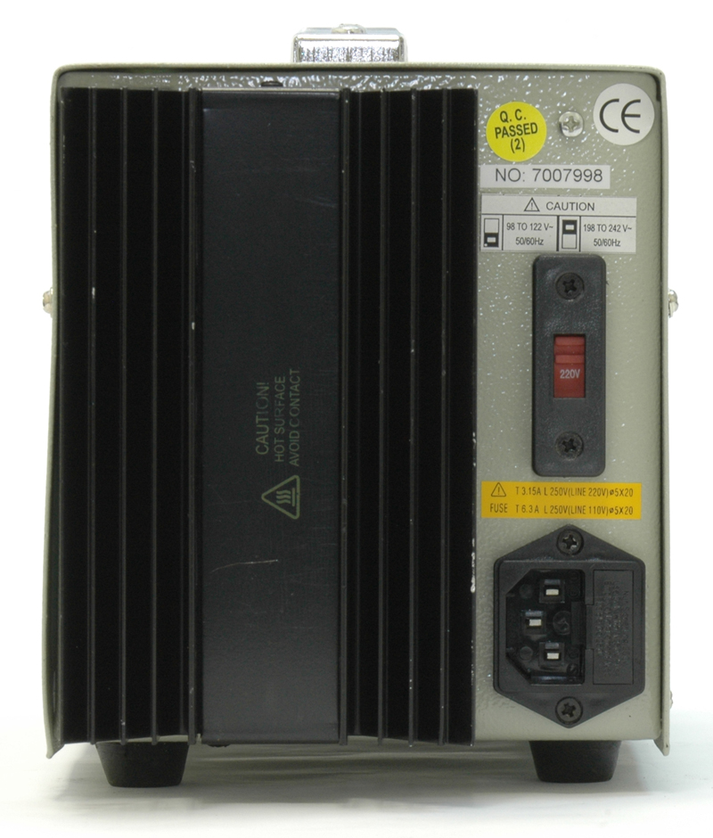 AKTAKOM APS-1335 DC Power Supply 150W 30V / 5A 1 Channel - Rear view
