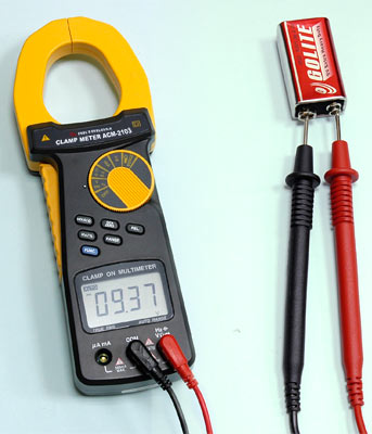 AKTAKOM ACM-2103 2000 A AC/DC Clamp Meter. True RMS + Multimeter + Direct current input (mA, µA) - DCV Measurement