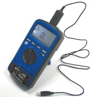 Capabilities of Aktakom AM-1152 multimeter with a special software installed