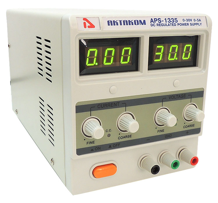 AKTAKOM APS-1335 DC Power Supply 150W 30V / 5A 1 Channel