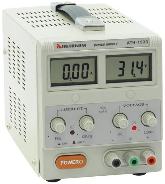 AKTAKOM ATH-1333 DC Power Supply 30V / 3A, 1 channel
