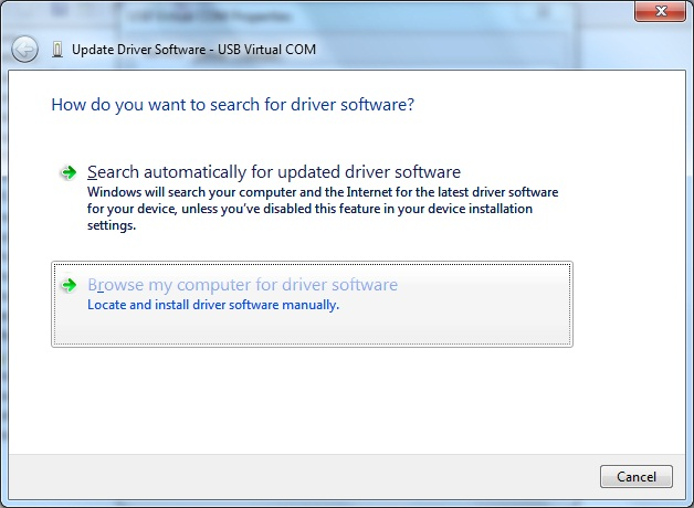 AKTAKOM APS-7315_SDK Software Development Kit - Installing driver software - step 3