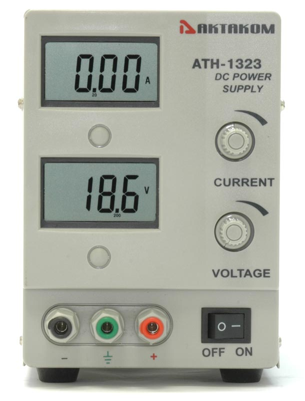 AKTAKOM ATH-1323 DC Power Supply - front view