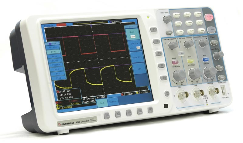 AKTAKOM ADS-2061MV Digital Storage Oscilloscope 60MHz 500MSa/s