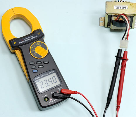 AKTAKOM ACM-2103 2000 A AC/DC Clamp Meter. True RMS + Multimeter + Direct current input (mA, µA) - ACV Measurement