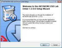 How to install AKTAKOM USB Device Driver (AUNLibUSB)