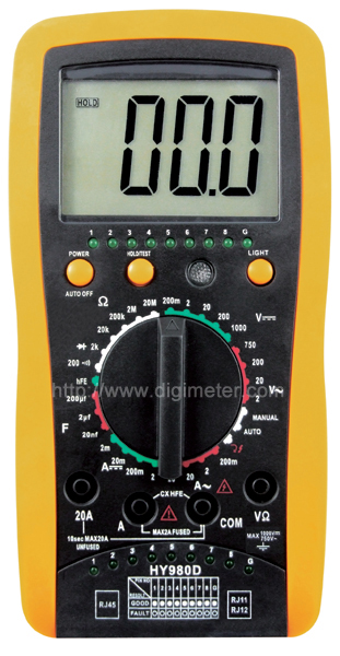 HY980D Digital multimeter