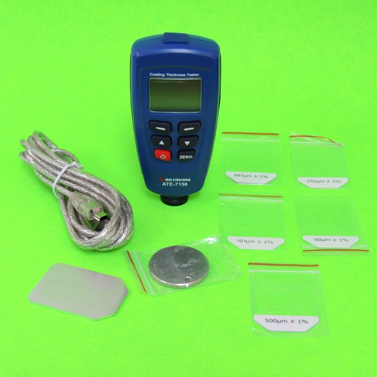 AKTAKOM ATE-7156 Coating Thickness Tester - Full Set