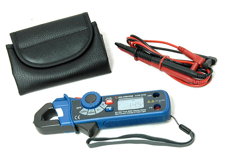 AKTAKOM ACM-2036 AC/DC True RMS Clamp Meter - with accessories