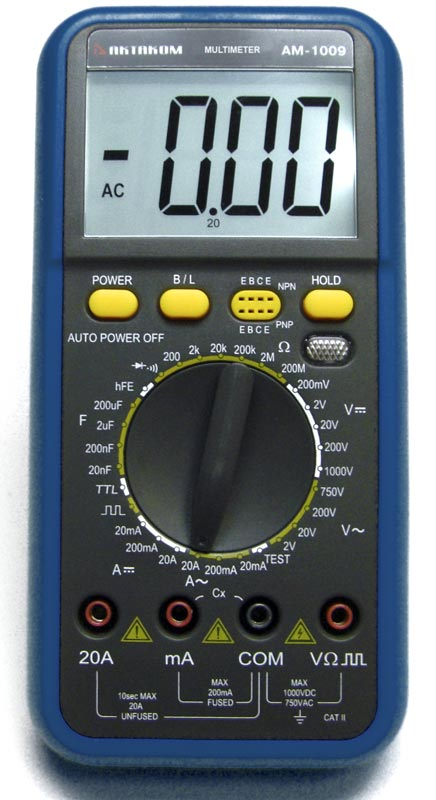 AKTAKOM AM-1009 Digital Multimeter - front view