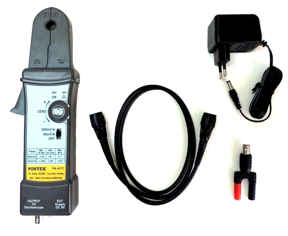 PA-677 Current Probe - Accessories