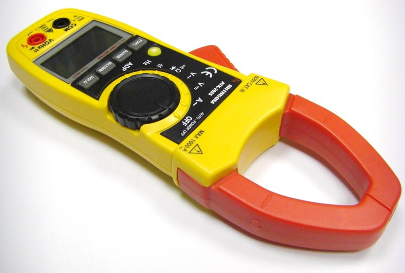 AKTAKOM ATK-2035 Clamp Meter - Right side