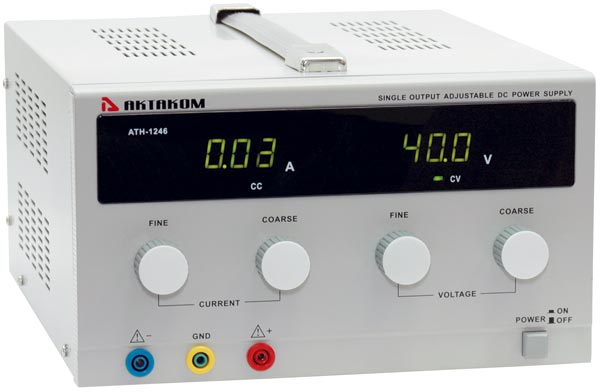 AKTAKOM ATH-1246 DC Power Supply 40V / 6A 1 Channel