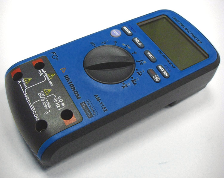 AKTAKOM AM-1152 Extra-safety Digital Multimeter - measuring terminals