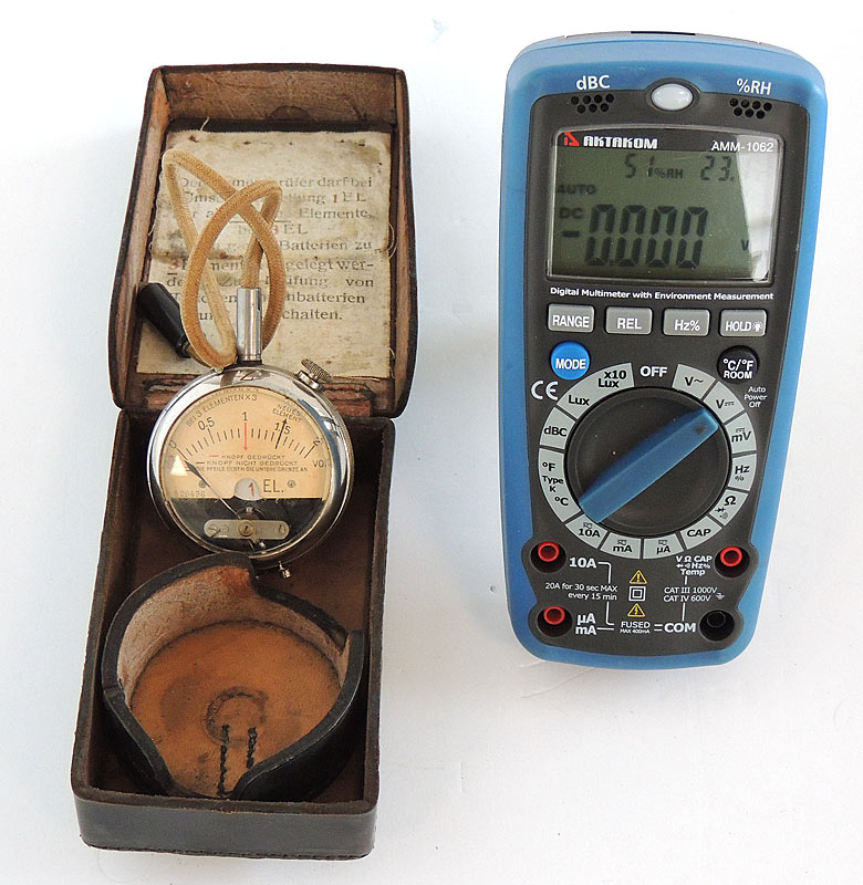 Antique 1916 Volt Meter: Works, Excellent Condition,  as Seen on TV Pawn Stars - with AM-1062