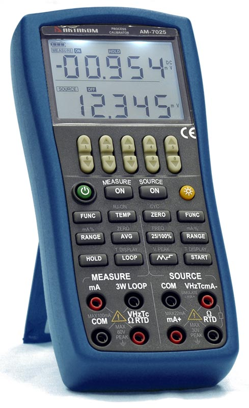 AKTAKOM AM-7025 Process Calibrator Multi-Function
