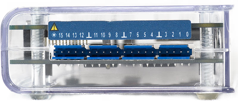 AKTAKOM AKC-3116 USB PC-based logic analyzer  - Front view