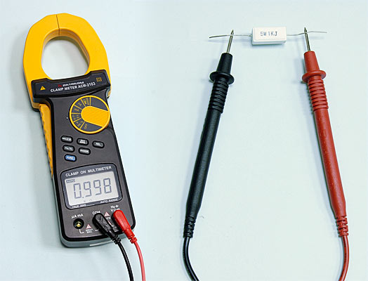 AKTAKOM ACM-2103 2000 A AC/DC Clamp Meter. True RMS + Multimeter + Direct current input (mA, µA) - Resistance Measurement