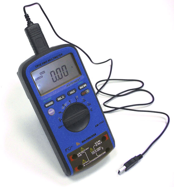AKTAKOM AM-1142 Digital Multimeter - with interface cable