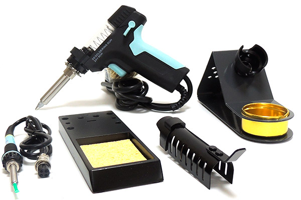 AKTAKOM ASE-3107 Temperature Controlled Soldering & Desoldering Station - Accessories