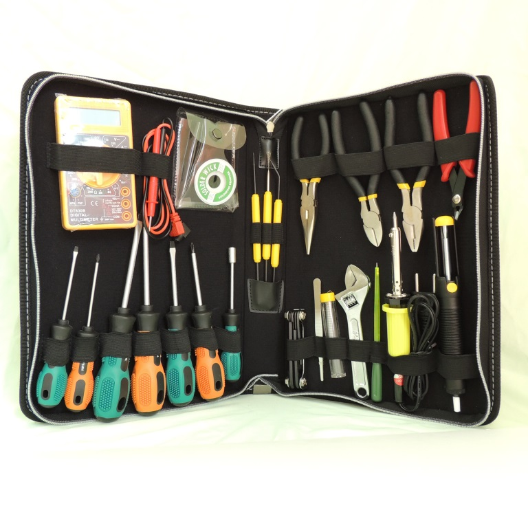 AKTAKOM AHT-5029 29 PIECE Professional Electronic Technician's Tool Kit - full set