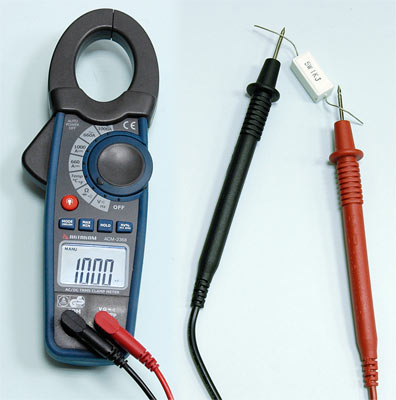 AKTAKOM ACM-2368 1000 A AC/DC Clamp Meter. True RMS + Inrush + Pulse and Temperature measurements - Resistance Measurement