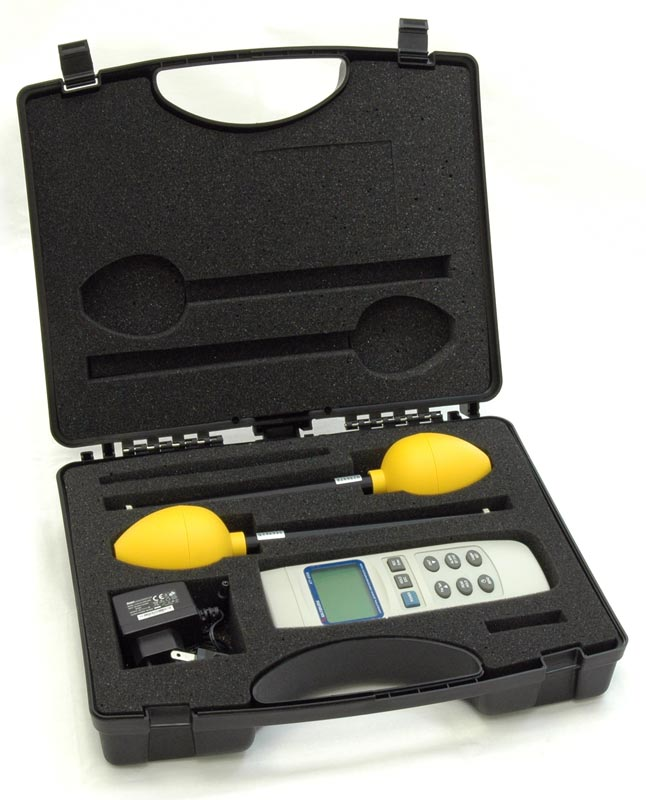 AKTAKOM ATT-8509 Electromagnetic Field Meter - with case