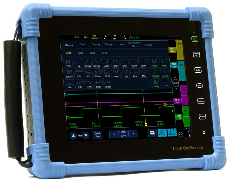 AKTAKOM ADS-4604T Tablet Oscilloscope