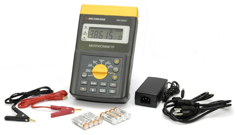 AKTAKOM AM-6007 Milliohm Meter - Accessories