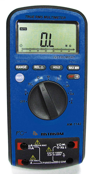 AKTAKOM AM-1142 Digital Multimeter