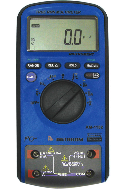 AKTAKOM AM-1152 Extra-safety Digital Multimeter
