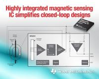 TI introduces industry's first fully integrated fluxgate sensor, signal conditioning and compensation coil driver IC, providing closed-loop current sensing
