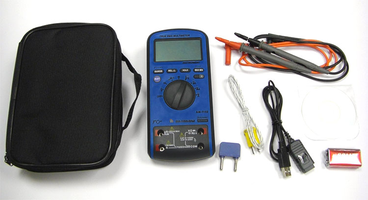 AKTAKOM AM-1152 Extra-safety Digital Multimeter - with accessories