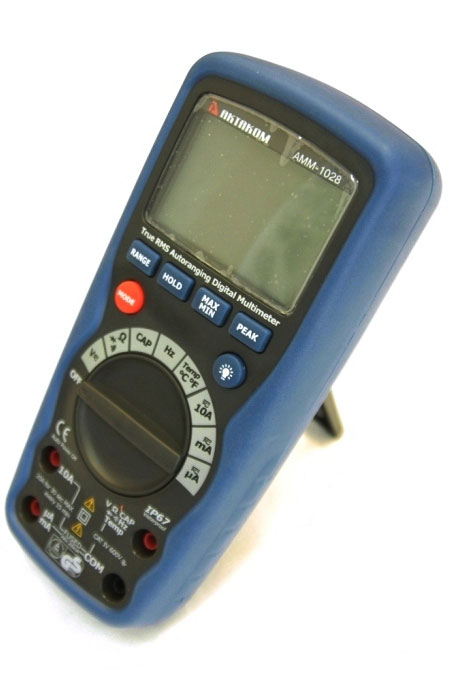 AKTAKOM AMM-1028 Professional Industrial Digital Multimeter - Right side view