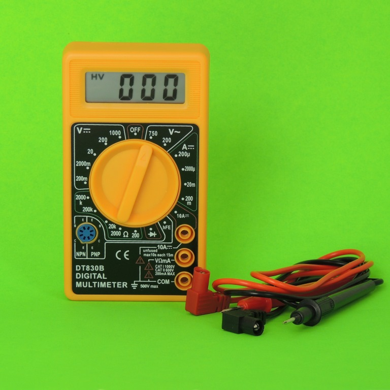 AKTAKOM AHT-5029 29 PIECE Professional Electronic Technician's Tool Kit - digital multimeter