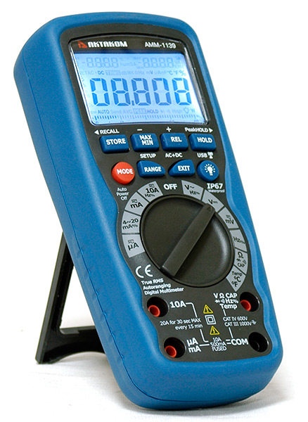 AKTAKOM AMM-1139 Professional Industrial Precision Digital Multimeter