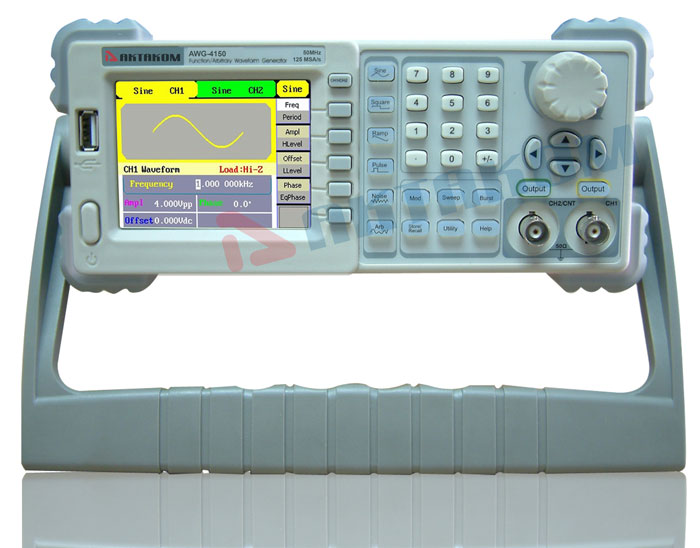 The Performance Precision and Price Package (AA8) - Aktakom AWG-4150 Function/Arbitrary Waveform Generator