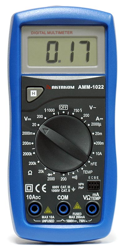 AKTAKOM AMM-1022 Digital Multimeter - front view