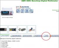 AKTAKOM ABM-4081 Benchtop Digital Multimeter. Answers to frequently asked questions