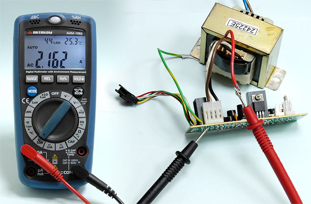 AKTAKOM AMM-1062 Professional Digital Multimeter with Environment Measurements - ACA Measurement