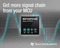 Integration at its core: New MSP430™ MCUs offer configurable signal-chain elements for sensing applications
