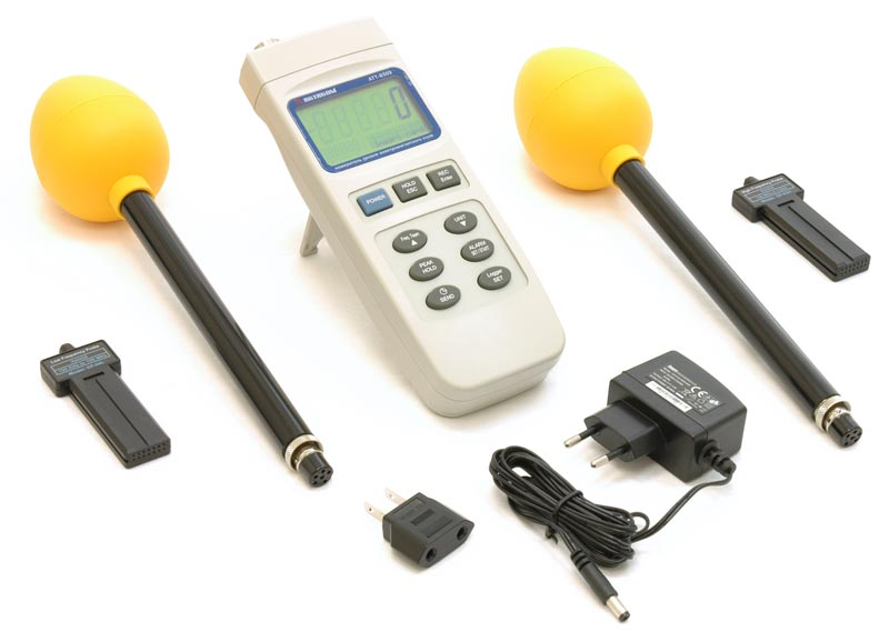 AKTAKOM ATT-8509 Electromagnetic Field Meter - with accessories