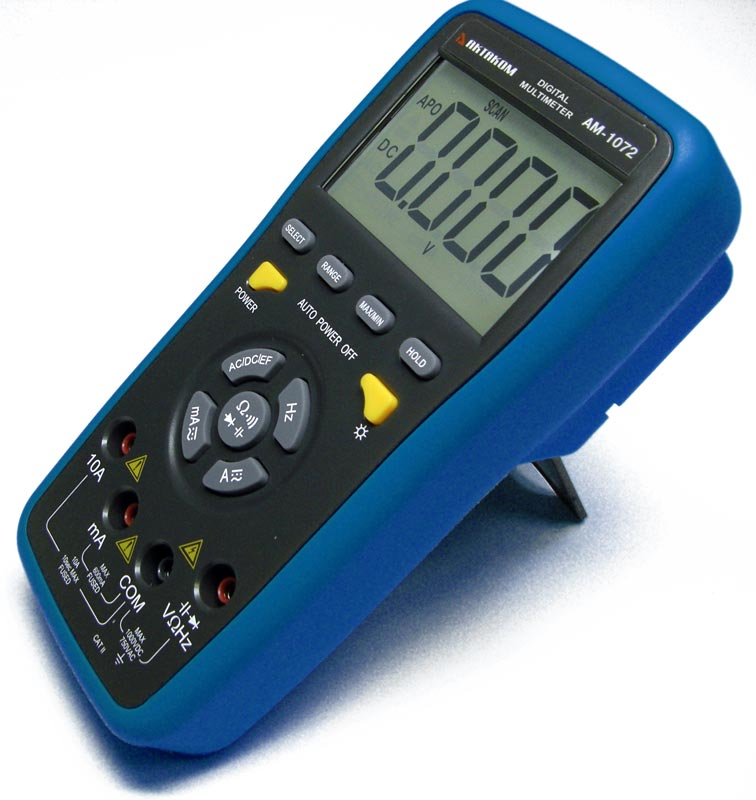 AKTAKOM AM-1072 Digital Push-Button Control Multimeter