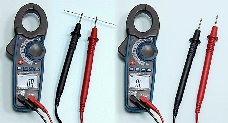 AKTAKOM ACM-2368 1000 A AC/DC Clamp Meter. True RMS + Inrush + Pulse and Temperature measurements - Continuity Check