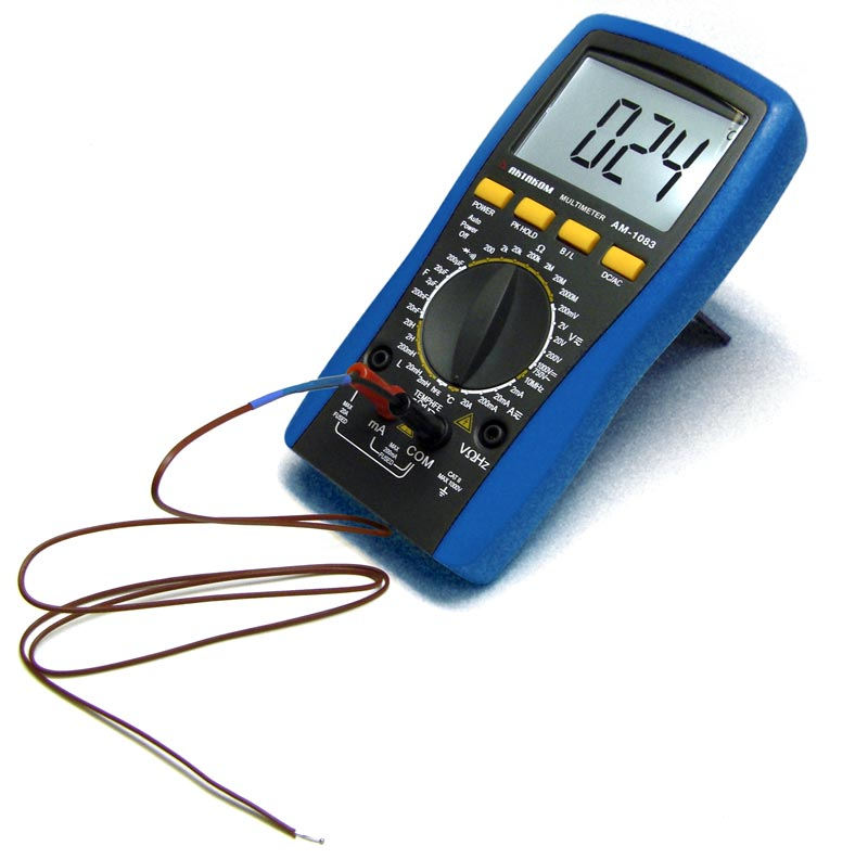 AKTAKOM AM-1083 Digital Multimeter - thermocouple K-type